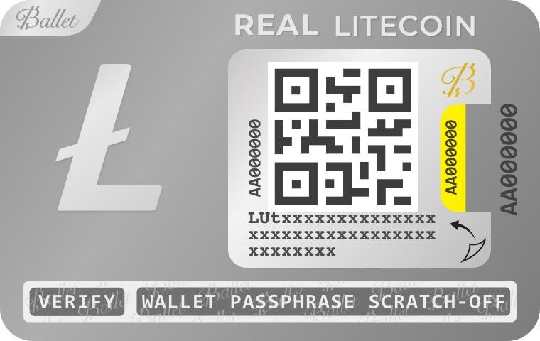 A mock-up of Ballet's REAL cryptocurrency wallet. Photo: Ballet