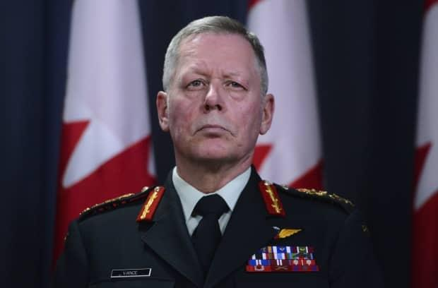 A criminal charge against former chief of the defence staff Jonathan Vance goes to court in Ontario today. (Sean Kilpatrick/The Canadian Press - image credit)