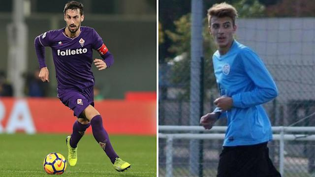 Football is mourning the loss of Davide Astori (left) and Thomas Rodriguez