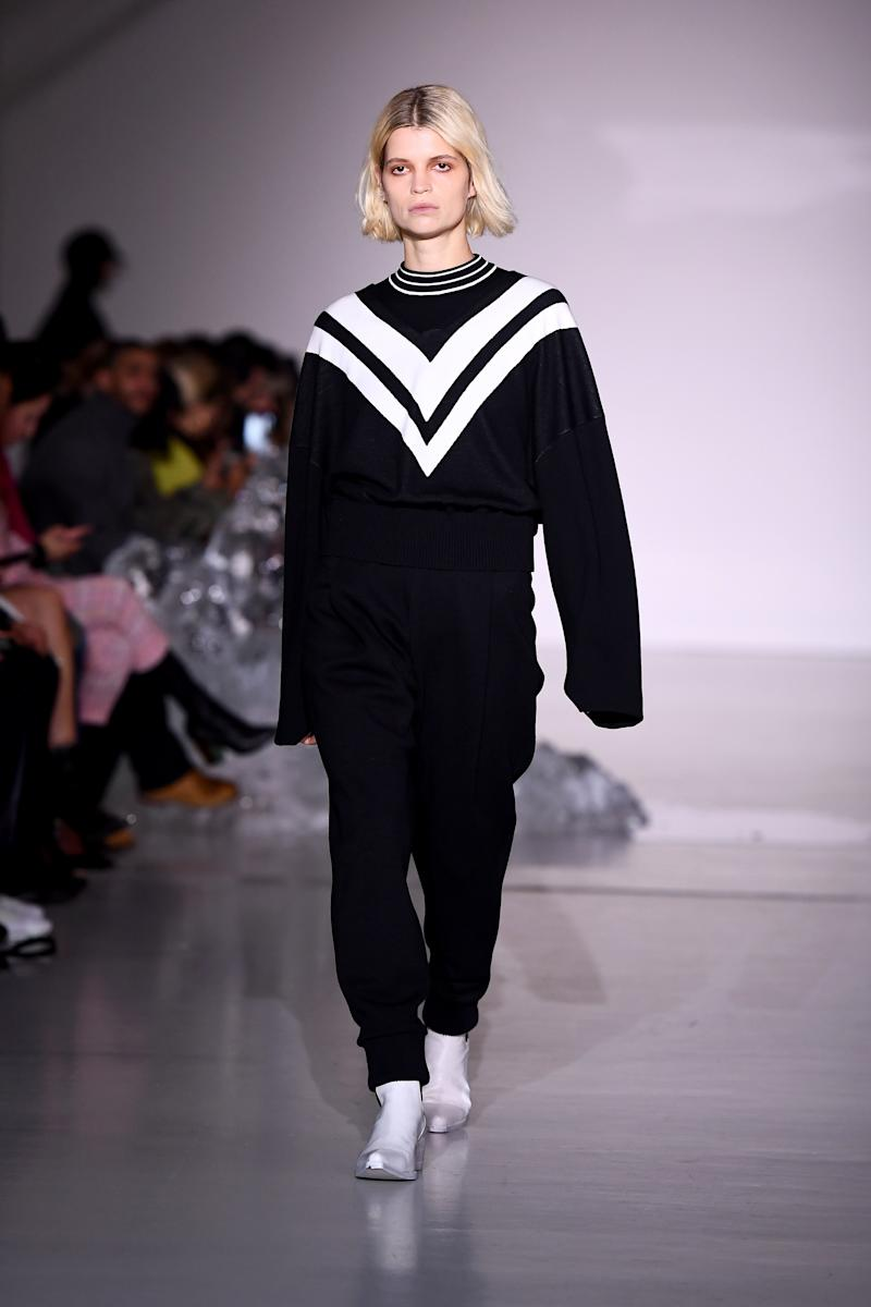 Socialite, singer, and sometimes model Pixie Geldof had quite the busy London Fashion Week; Pringle of Scotland's fall/winter 2019 show was just one of her appearances on the runway in February 2019.