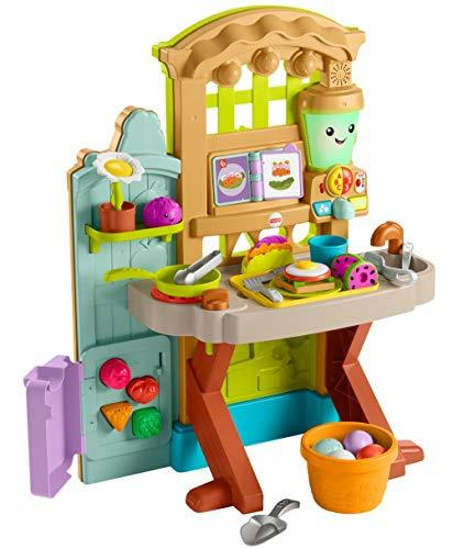 Fisher-Price Laugh & Learn Grow-the-Fun Garden to Kitchen (Amazon / Amazon)