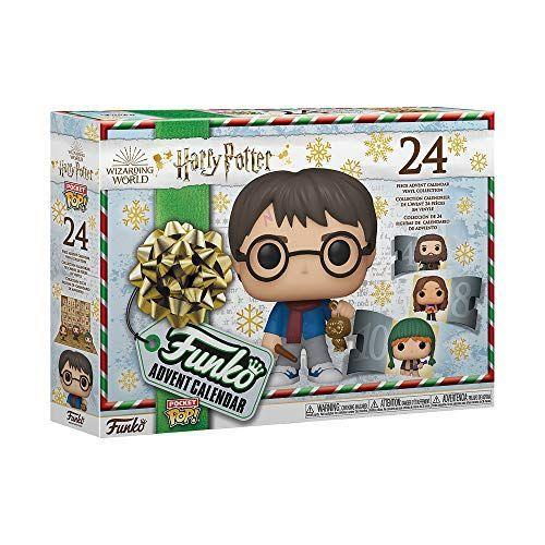 "<p><strong>Funko</strong></p><p>amazon.com</p><p><strong>$39.96</strong></p><p><a href=""https://www.amazon.com/dp/B084R1YBML?tag=syn-yahoo-20&ascsubtag=%5Bartid%7C10055.g.28939299%5Bsrc%7Cyahoo-us"" rel=""nofollow noopener"" target=""_blank"" data-ylk=""slk:Shop Now"" class=""link rapid-noclick-resp"">Shop Now</a></p><p>With this advent calendar, they can countdown the days until Christmas with Harry. By the end they'll have a collection of 24 <em>Harry Potter</em> Funko character figurines. <em>Ages 3+</em></p><p><strong>RELATED:</strong> <a href=""https://www.goodhousekeeping.com/holidays/gift-ideas/g29440409/cool-advent-calendars/"" rel=""nofollow noopener"" target=""_blank"" data-ylk=""slk:13 Best Cool Advent Calendars for Everyone on Your List"" class=""link rapid-noclick-resp"">13 Best Cool Advent Calendars for Everyone on Your List</a></p>"