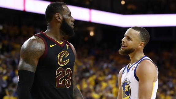 various colors e0370 1322f LeBron James, Steph Curry agree NBA champs won't head to ...