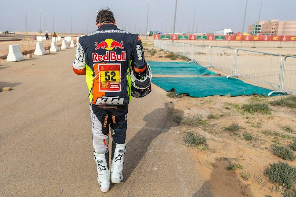 "#52 Red Bull KTM Factory Team: Matthias Walkner<span class=""copyright"">KTM </span>"