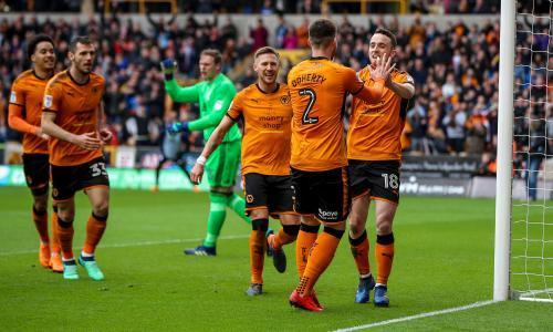 Diogo Jota sets promoted Wolves on the way to win over Birmingham