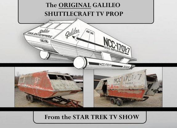 """Dedicated fans are giving new life to the shuttlecraft used in the original """"Star Trek"""" television series."""