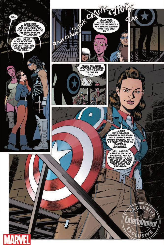 Old Captain America And Peggy Funeral
