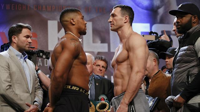 The biggest heavyweight title bout to take place since Lennox Lewis vs. Mike Tyson in 2002.