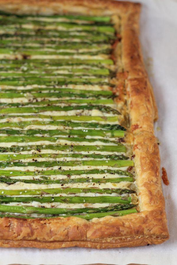 """<p>Take advantage of all that farm-fresh asparagus down at the farmers' market with this tasty tart.</p><p><strong>Get the recipe at <a href=""""http://hipfoodiemom.com/2015/03/13/asparagus-gruyere-tart/"""" rel=""""nofollow noopener"""" target=""""_blank"""" data-ylk=""""slk:Hip Foodie Mom"""" class=""""link rapid-noclick-resp"""">Hip Foodie Mom</a>.</strong></p>"""