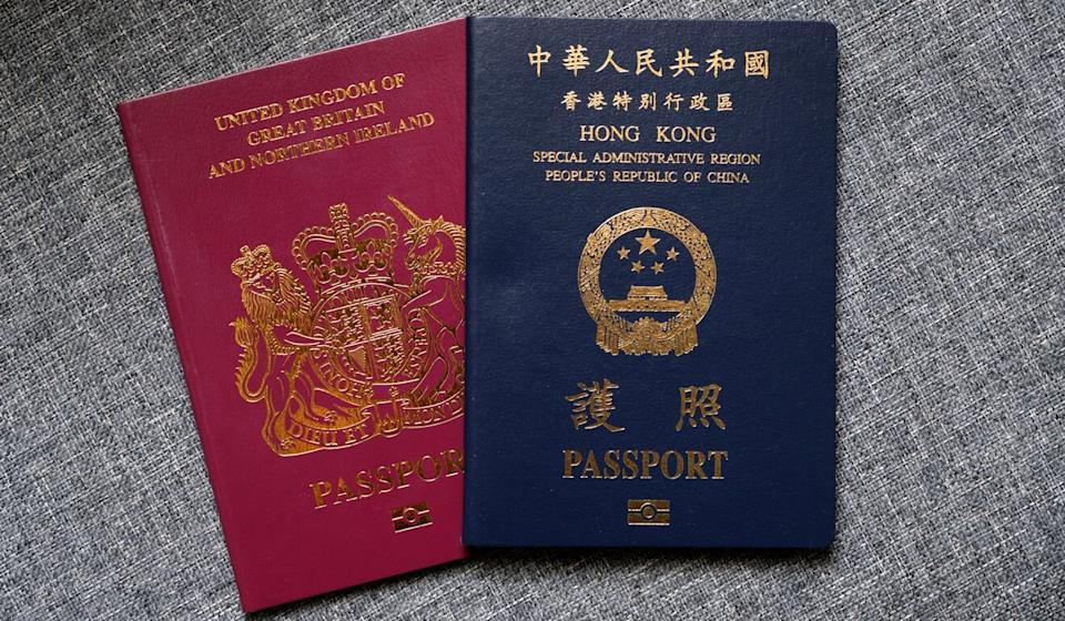 Britain's new visa scheme for Hongkongers with British National (Overseas) status is expected to entice thousands to leave the city. Photo: Fung Chang