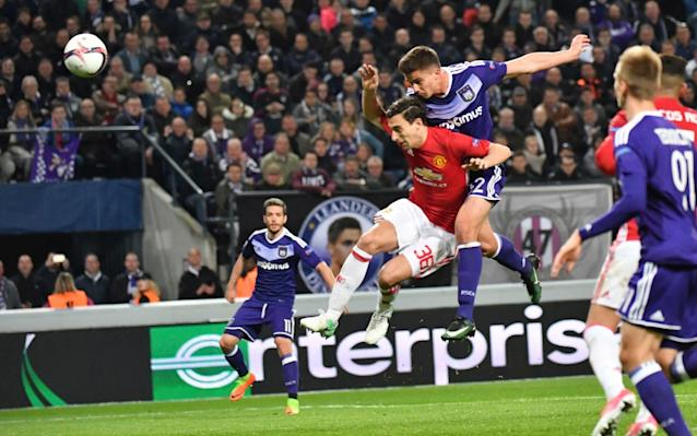 <span>United drew 1-1 with Anderlecht on Thursday</span>