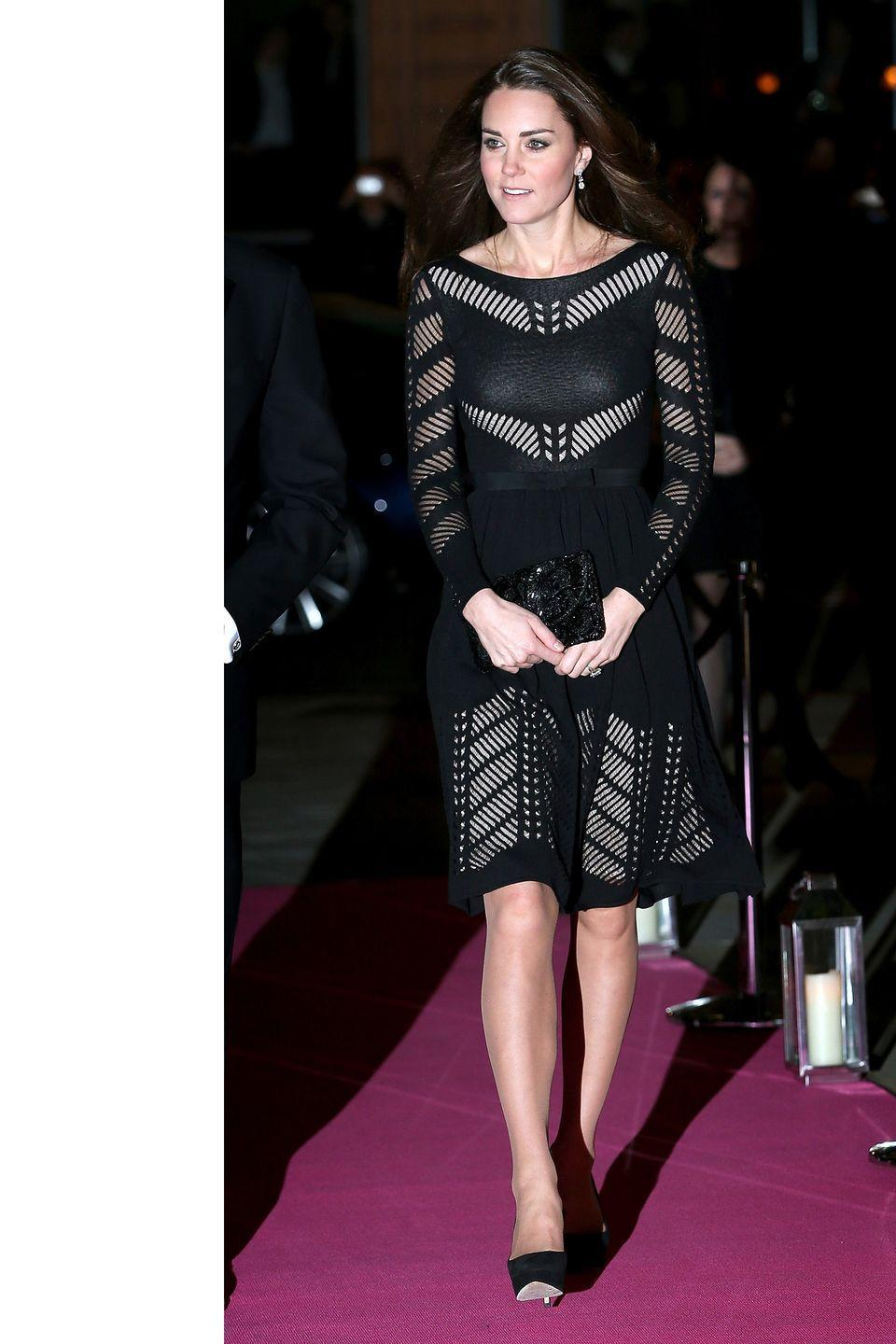 <p>At the Action On Addiction Dinner wearing Temperley London in London</p>