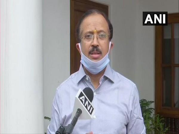 Minister of State for External Affairs, V Muraleedharan speaking to ANI.