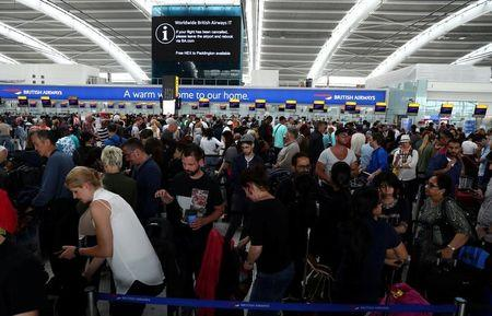 British Airways disruption continues for third day after IT system crash