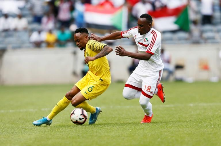 South Africa beat Sudan 1-0 (AFP Photo/Phill Magakoe)