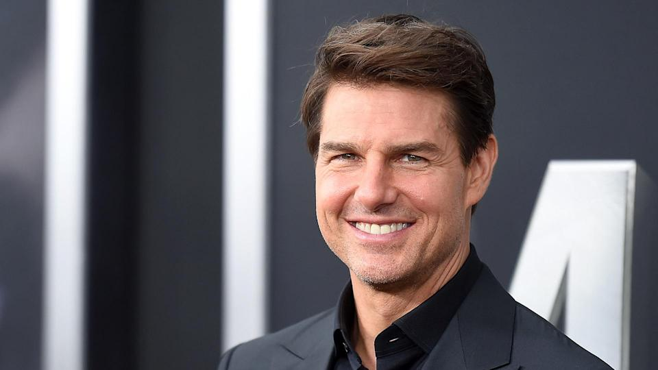"""NEW YORK, NY - JUNE 06:  Tom cruise attends the """"The Mummy"""" New York Fan Eventat AMC Loews Lincoln Square on June 6, 2017 in New York City."""