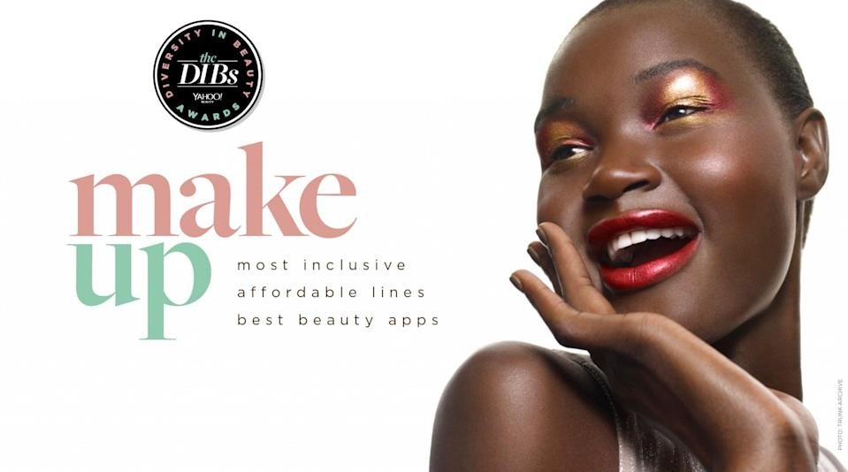 <p>The makeup categories include Most Inclusive Foundation, Affordable Makeup Lines, and Best Beauty App. </p>
