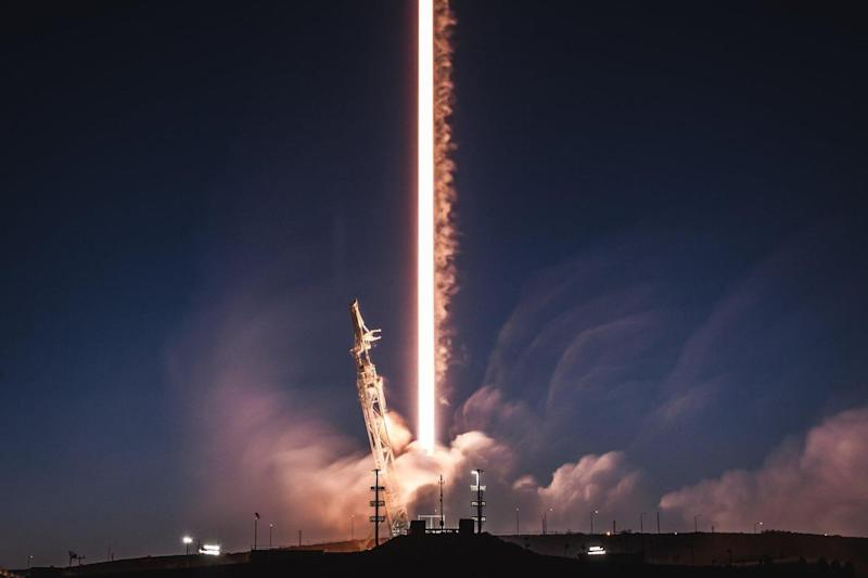Falcon 9 launch: The rocket shot satiates into Earth orbit: SpaceX