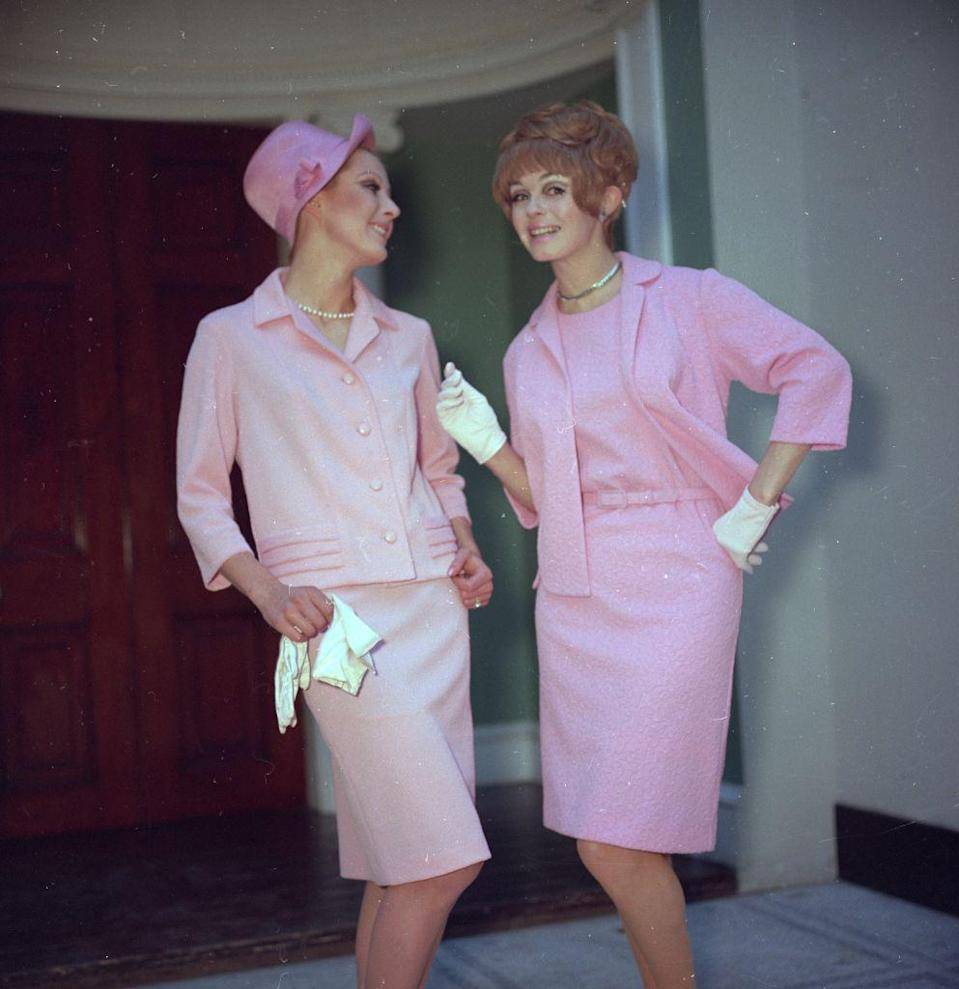 <p>The '60s version of millennial pink.<br></p>