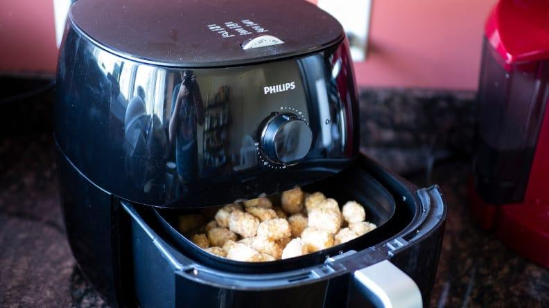 After those holiday cookies, this air fryer will provide some healthier options.