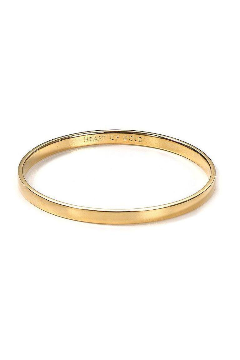 """<p><strong>Kate Spade New York</strong></p><p>amazon.com</p><p><strong>$26.60</strong></p><p><a href=""""https://www.amazon.com/dp/B0059P7JYG?tag=syn-yahoo-20&ascsubtag=%5Bartid%7C10072.g.31400004%5Bsrc%7Cyahoo-us"""" rel=""""nofollow noopener"""" target=""""_blank"""" data-ylk=""""slk:SHOP NOW"""" class=""""link rapid-noclick-resp"""">SHOP NOW</a></p><p>A bracelet that says what really doesn't need to be said at all: Mom has a heart made of pure gold. </p>"""