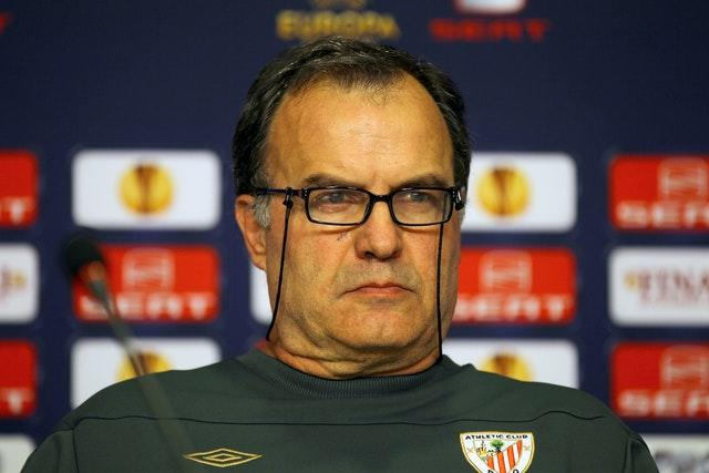 Bielsa spent two seasons in charge of Athletic Bilbao