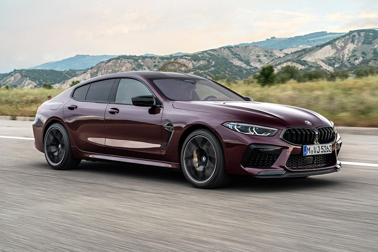 """The big 8 Series is, perhaps, the loveliest of the Bavarian brand's current offerings. It is made all the lovelier by the addition of two doors in Gran Coupe guise, and a 617 hp twin-turbo V8 in <a href=""""https://www.architecturaldigest.com/story/ad-test-drives-soon-to-be-released-2017-bmw-m760i-xdrive?mbid=synd_yahoo_rss"""">M guise</a>."""
