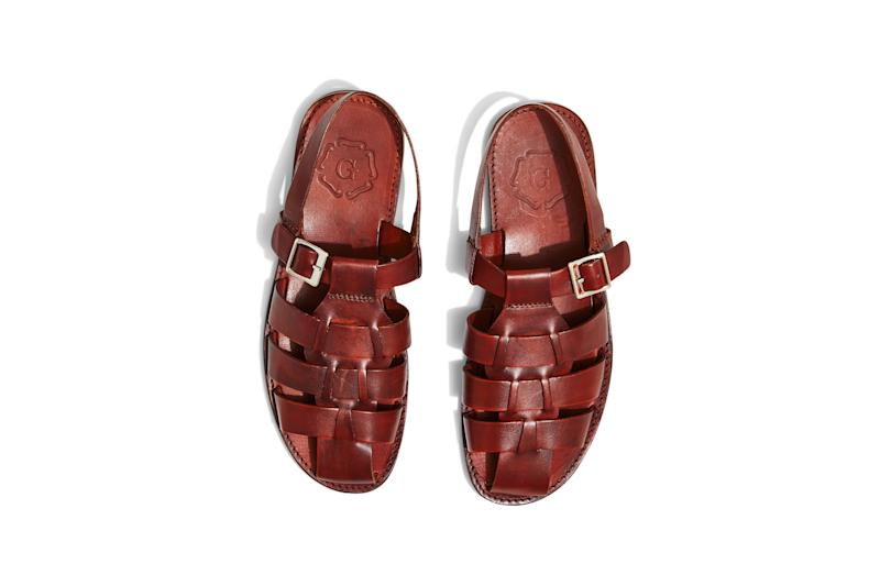 Sandals, $210, by Grenson