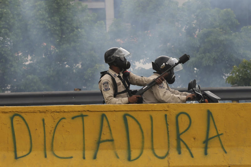 Death toll from anti-government protests in Caracas rises to 12