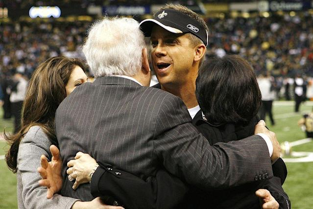 "<p>The city of New Orleans and the state of Louisiana are in mourning, and should be. Tom Benson—a giant of an owner in all ways, and my boss with the Saints since 2006—has passed.</p><p>I just wish every Saints fan had the privilege I had. I got to be mentored by Mr. Benson for over a decade. Almost every day since I got the job coaching the Saints, Mr. Benson, a very behind-the-scenes owner, would give me some football—and life—advice.</p><p>I'd walk into his office in the morning. He'd always have a bowl filled with Tootsie Rolls and Hershey Kisses. I'd grab a couple of pieces of the candy and sit there for a few minutes, maybe longer, and listen. This is when we'd talk on a variety of topics. In every meeting, some piece of wisdom from his life in New Orleans, his business life, his military life, his sporting life, would pass from him to me.</p><p><em>""Retirement speeds your aging, you know. Don't retire. It's the most overrated thing ever.""</em></p><p><em>""You got plenty of time to coach, Coach.""</em></p><p><em>""Accountability, Coach. Be on top of your coaches. Make them accountable in everything they do.""</em></p><p>He hated a mess. He wanted everything to be neat, organized. He was a military man, through and through. One day in one of those meetings, he'd seen our mail room all messed up, and he said to me, <em>""Coach, we've got to get that mailroom organized. Can't have a mess.""</em></p><p>He was obsessed with all Saints employees parking in their correct spaces. Periodically, this topic would pull me from a game plan meeting. But in a business where the little things are the big things, I came to appreciate his attention to every detail.</p><p>When the message of the day was given, and our conversation began to wane, Mr. Benson had this way of ending the meeting with his right hand. He'd open his right hand and tap his open palm twice on the table … <strong><em>tap tap</em></strong> …</p><p>I knew it was time to go. Meeting over.</p><p>One time, we'd lost two or three games in a row. The fans were down on us, the media was down on us, everyone was down on us. Not Mr. Benson. I come in to work one day that week, and there was a handwritten note on my desk.</p><p><em>""When the going gets tough, the tough get going, Coach.""</em></p><p>Of course you've heard that before, and you wonder what good that does. But it just showed you he cared, and he wanted me to know he cared, and it doesn't matter what walk of life you're in—sometimes you just need that. With Mr. Benson, it was unconditional.</p><p>I'm out in Los Angeles right now. I found out he died Thursday while I was on the way to UCLA's pro day, and it was hard to pay close attention to all these drills. So many good memories about what he meant to me and our city raced through my mind. We've all had days like that—we've been somewhere, but we're not really there. That's what this pro day was like.</p><p>The hallmark of a great owner is knowing what's important to the football team, and doing what he can to help in every way. I cannot think of one time when we asked for anything remotely important and he said no. I wanted to take the players on a team-bonding trip to a water park once. It cost $8,000. No problem. Never a problem.</p><p>That even extended to sleep—and to his organization and neatness. Lots of coaches in the NFL periodically will sleep one or two nights in the office. With Mr. Benson, the challenge was getting the sleeping bag rolled or the couch folded up before he walked down the hall in the morning. He hated our offices looking sloppy. So he ended up footing the bill in 2016 for a high-tech sleep room at our facility—climate-controlled, built-in chargers for a phone, blackout shades on the window and door. No more excuses for a sloppy office, and the coaches loved it.</p><p>Mr. Benson loved winning, of course. But I have to say he loved seeing the fans happy just as much. That made him so incredibly happy. When I got here in 2006 after the angst and heartache of Hurricane Katrina, he was looking for structure and discipline and organization. We signed Drew Brees, and the fans started to get a little excited, and the fix of the stadium was coming along, and then we drafted Reggie Bush with the second pick that year. The fans were so fired up that we sold out the Superdome for the season within two-and-a-half hours of making the pick. It's been sold out since. That made him so excited.</p><p>When we'd go on road trips, I wanted the veterans to sit in first class, and he loved that. Rewards for the veterans. He and Mrs. Gayle [wife Gayle Benson] flew coach with the rest of us. Like her husband, she was such a great fan and supporter. We won some games that year, and we won our division, and people would be waiting for us after road games at the airport. Hundreds of people.</p><p>He loved seeing the customer happy. Isn't that the essence of a good businessman?</p><p>When I got suspended for the season in 2012 over the alleged bounties in our games, it was a big shock to all of us. There was pressure from people in the league and the league office—I'm not going to say who—to fire me. Mr. Benson was resolute.</p><p>""We're not doing that,"" he said. ""He doesn't deserve that.""</p><p>I had six days to get my office packed and to leave. I met with Mr. Benson every day. He was extremely hurt. Blindsided. But he was behind me, and he had my back the entire way, and for the entire year. I will never forget it.</p><p>Mr. Benson was a lot like Bill Parcells, another man who's been very important to me in my career. When you expected a cupcake, you got a fist. But he wouldn't kill you in the toughest times. This year, we lost to Minnesota in the playoffs on that last-second touchdown pass by the Vikings, one of the most heartbreaking losses a team can ever have. After the game, Mr. Benson saw me. I wondered what he was going to say. Now, this was less than two months ago. Mr. Benson's 90.</p><p>He says, ""Hey Coach, I like this group. Tough loss. But I like this group. We're going in the right direction. We'll be OK.""</p><p>You know how great that is for a coach to hear?</p><p>That's the kind of thing I heard a lot. When I coach the Saints in 2018, Mr. Benson won't be there. My meetings with him are over. But I'll hear him this year, and I'll hear him every year I coach.</p><p><em><strong>Tap tap.</strong></em></p><p><strong><em>Question or comment? </em><em>Email us at <span>talkback@themmqb.com</span>.</em></strong></p>"