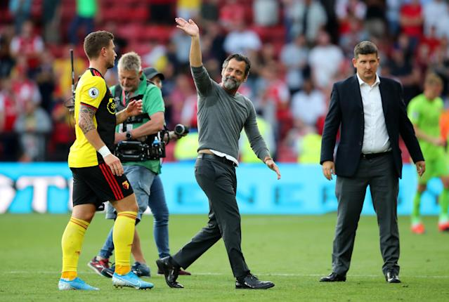 Quique Sanchez Flores will be pleased with his side on his return to Watford. (Photo by Marc Atkins/Getty Images)