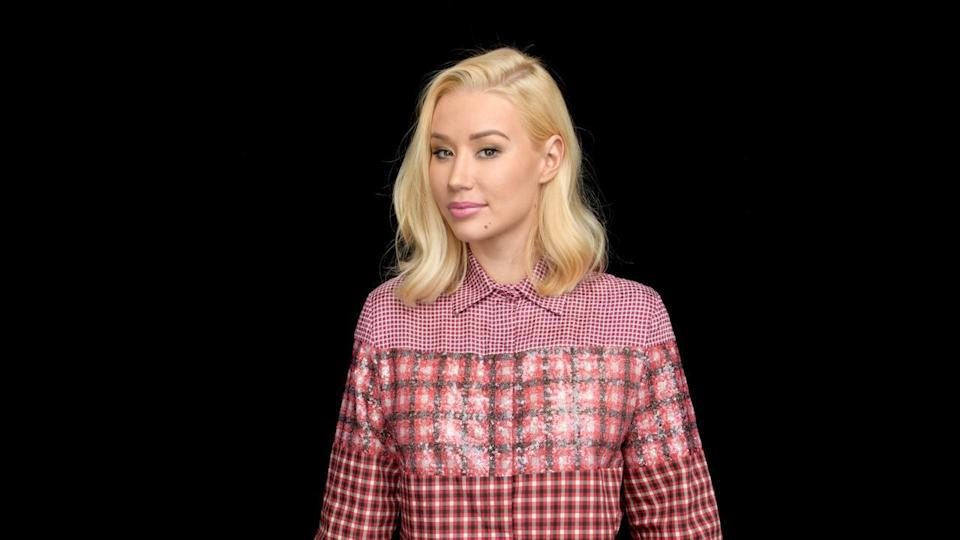 """Hip-hop star Iggy Azalea took the Build stage to chat about her new EP, """"Survive the Summer."""" (Credit: Build Studio)"""