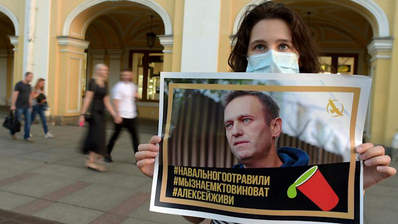 Calls mount for Germany to rethink Russian gas pipeline plan after Navalny poisoning