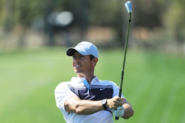 """World number one Rory McIlroy says it's a """"scary"""" time due to the coronavirus outbreak as the US PGA Tour shut down after Thursday's first round of The Players Championship (AFP Photo/Matt SULLIVAN)"""