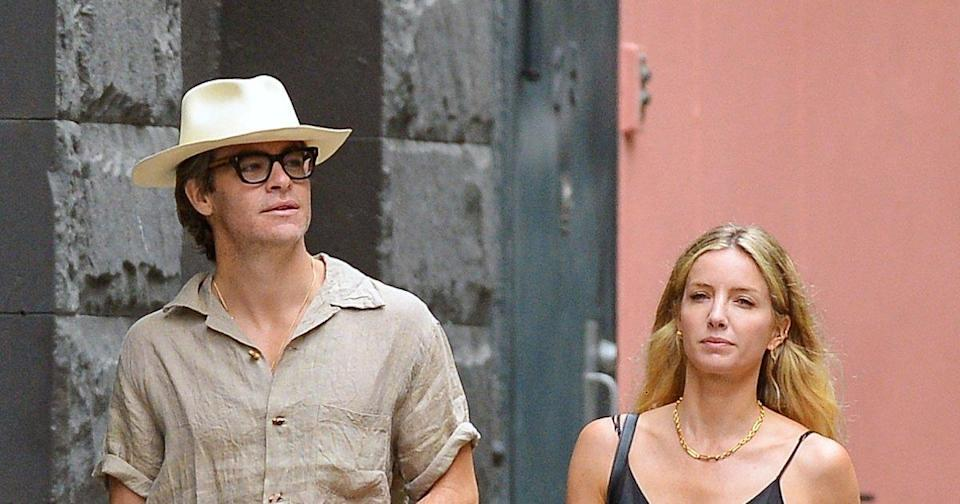 Going Strong! Chris Pine and Annabelle Wallis Show Off Their Summer Style in N.Y.C