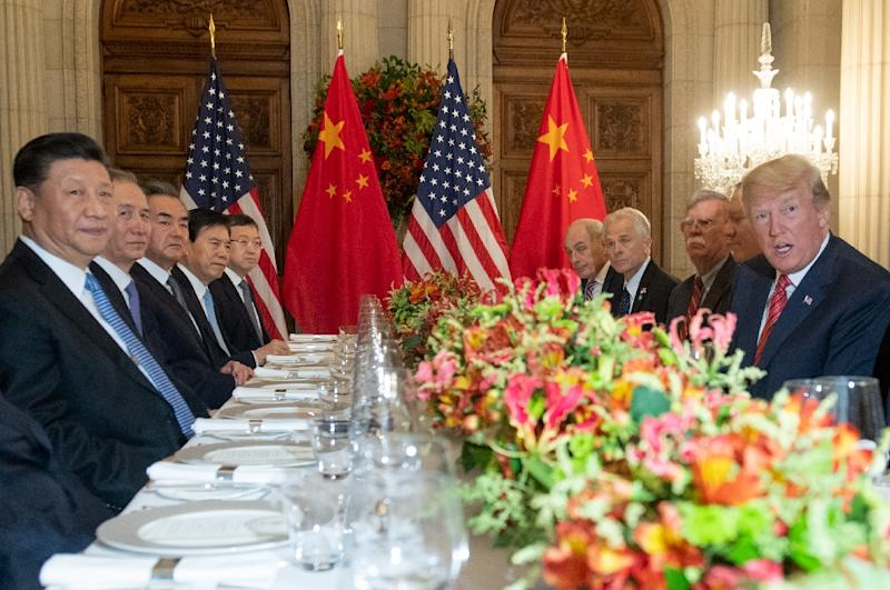 Donald Trump hailed his meeting with Xi Jinping as 'amazing and productive,&#39 with news the United States was holding off on an increase in tariffs providing a boost to markets