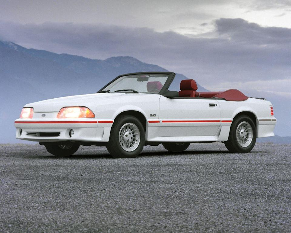 <p>When we tested a 1987 Mustang GT, it did zero to 60 mph in just 6.3 seconds and ran the quarter in 14.7 seconds. Top speed was a blistering 137 mph. So of course a Mustang was the perfect weapon to run down unlucky motorists stung by a speed trap. And with a 55-mph national limit at the time, scofflaws were abundant. <em>—Jeff Sabatini</em><br></p>