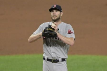 FILE PHOTO: MLB: Boston Red Sox at Cleveland Indians