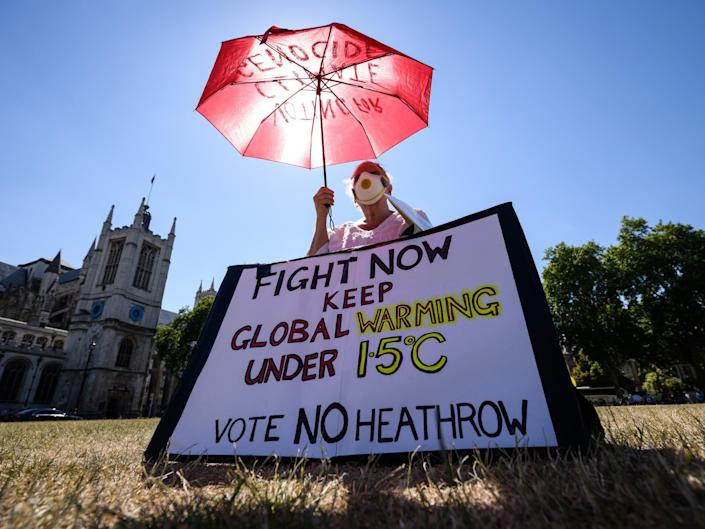 Heathrow airport wants to add a third runway but activists say noise affecting lives and health is underestimated: Getty