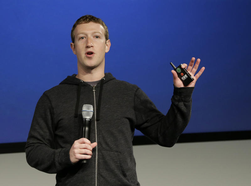 Facebook's Zuckerberg launches political group