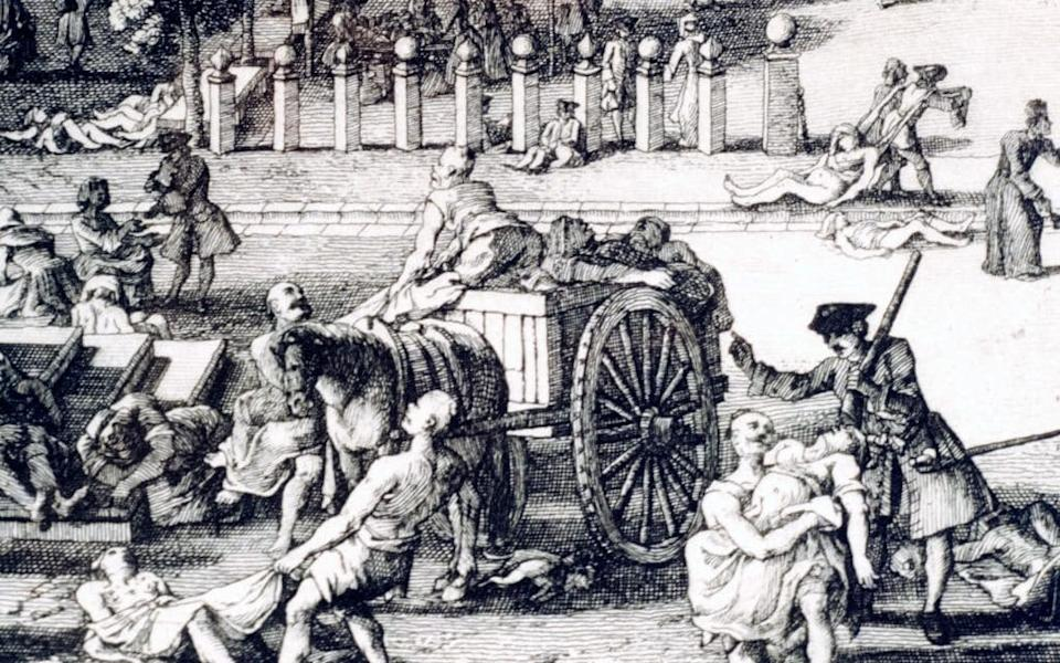The last major outbreak of the plague in Europe occurred exactly 300 years ago - Getty