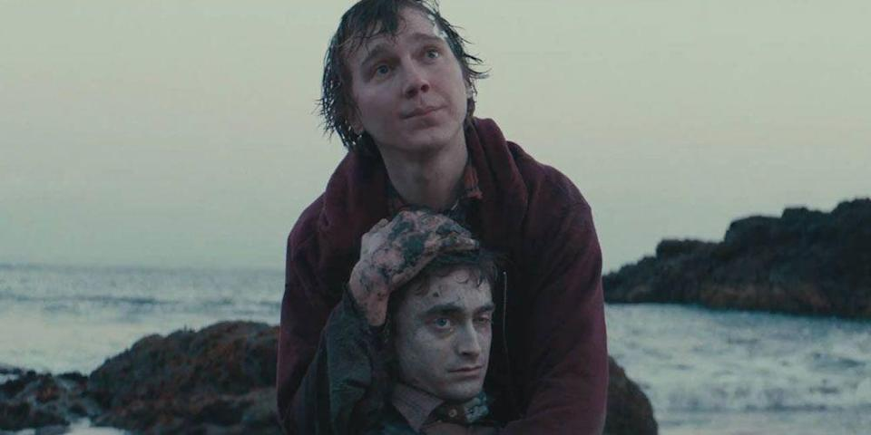 """<p>Daniel Radcliffe stars as a (wait for it) corpse in this surreal buddy-comedy in which Paul Dano makes great use of his dead friend's body after washing up on a deserted island.</p><p><a class=""""link rapid-noclick-resp"""" href=""""https://www.netflix.com/watch/80097389?trackId=13752289&tctx=0%2C0%2C1201afcb-9d74-43c1-ad9e-02d3d156110e-1158590%2C%2C"""" rel=""""nofollow noopener"""" target=""""_blank"""" data-ylk=""""slk:Watch Now"""">Watch Now</a></p>"""