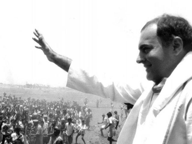 Rajiv Gandhi had been campaigning for the upcoming elections