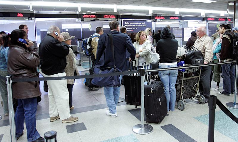 Thousands Of Bags, Luggage Stuck At JFK Days After Blizzard