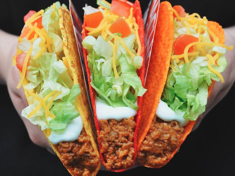 Taco Bell is giving away free Doritos Locos Tacos
