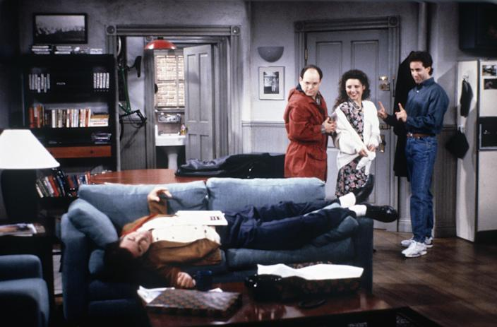"""<h1 class=""""title"""">Seinfeld</h1><cite class=""""credit"""">Photo: Maria McCarty/NBCU Photo Bank/NBCUniversal via Getty Images via Getty Images</cite>"""