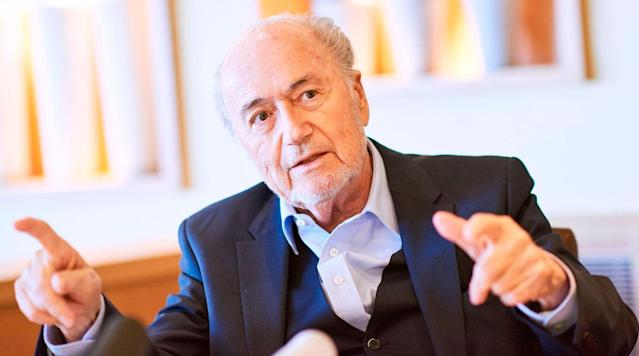 ZURICH (AP) Sepp Blatter has met with U. S.