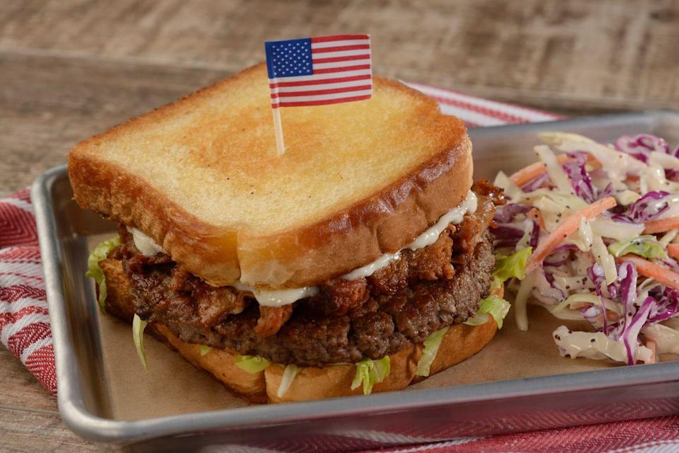 <p>Epcot encompasses an around-the-world theme, where guests can visit different countries and taste their native food and drink. The plant-based BBQ Jackfruit Burger at the Regal Eagle Smokehouse (in the American Adventure pavilion) will hit the spot — it's served alongside class french fries and plant-based mayo.</p>