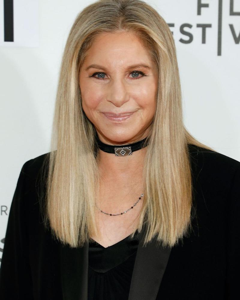 Barbra Streisand - here at the Tribeca Film Festival in 2017 - has revealed she cloned her dog. Source: Getty