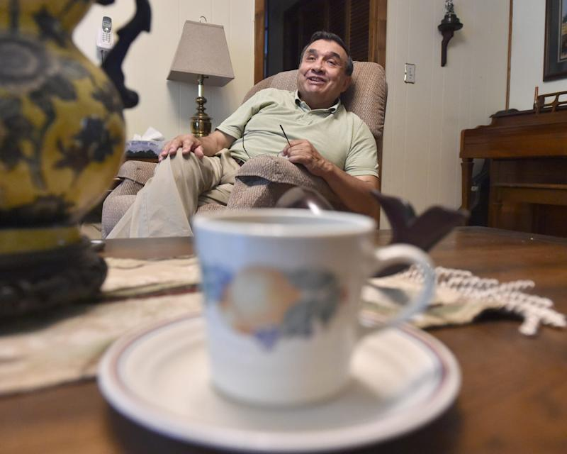 Luis Cartagena moved to the USA from Chile with his dog, Tuto, in the 1990s, following his siblings and parents.